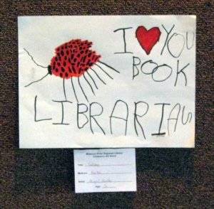 I heart you book librarian