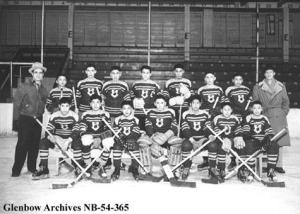 St. Paul Lethbridge Residential School Hockey Team
