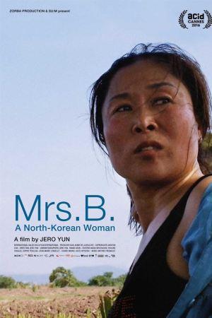 mrs b woman of n korea poster